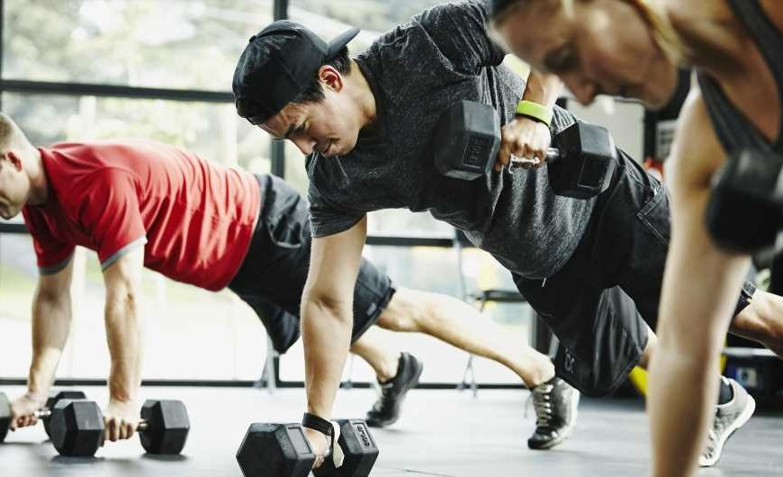 These Are the Germiest Places in the Gym