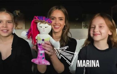Jessica Alba's Daughter Shares Sweet Story About Favorite Doll from Her Childhood – Sewn by Mom!