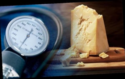 High blood pressure: Type of cheese could lower your reading