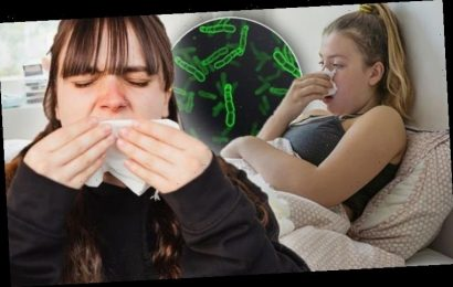 Pneumonia warning – what colour is your phlegm? Colour to avoid