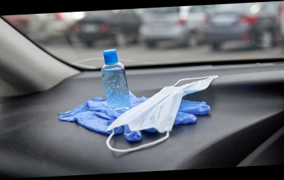 You Shouldn't Store Your Hand Sanitizer In A Hot Car…