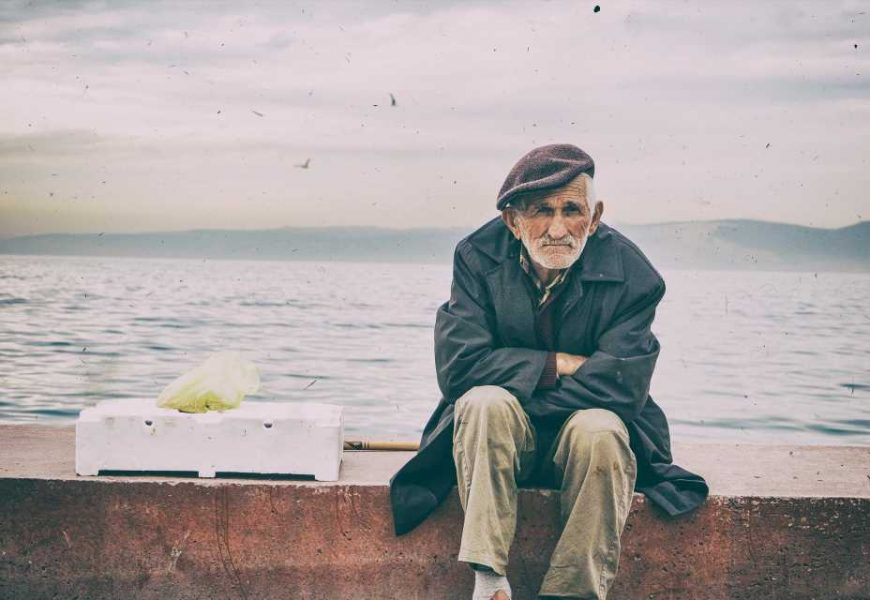 Older men worry less than others about COVID-19