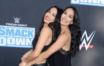 Brie & Nikki Bella Plan to Give Birth on Film, Despite COVID-19