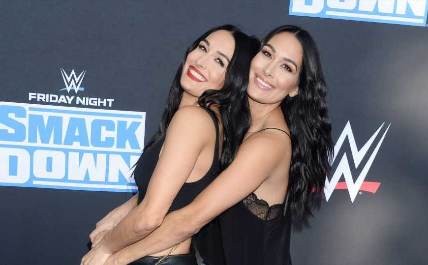 Brie & Nikki Bella Plan to Give Birth on Film, Despite COVID-19