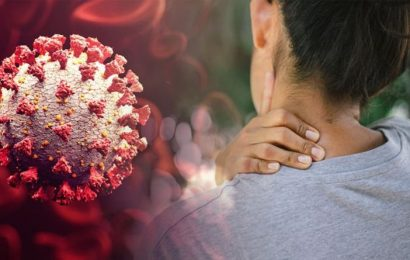 Coronavirus symptoms: The sign in your neck that could be linked to COVID-19