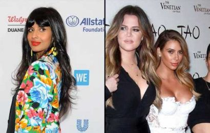 Jameela Jamil on Stopping Kardashians' Insta Game: 'They're Just 3 Girls'