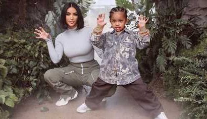 Kim Kardashian's Son Saint Says She 'Buys' Him Things, 'Leaves' Him Alone