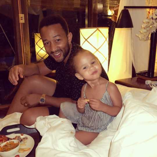 John Legend Says He, Daughter Are 'Best Friends' After Welcoming Her into His 'Boy-Heavy Family'