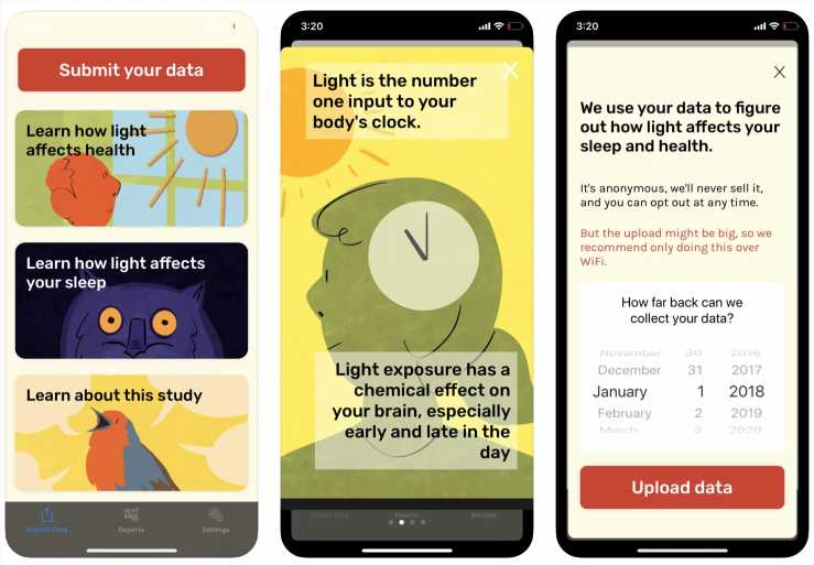 New app analyzes how social distancing affects biological clocks