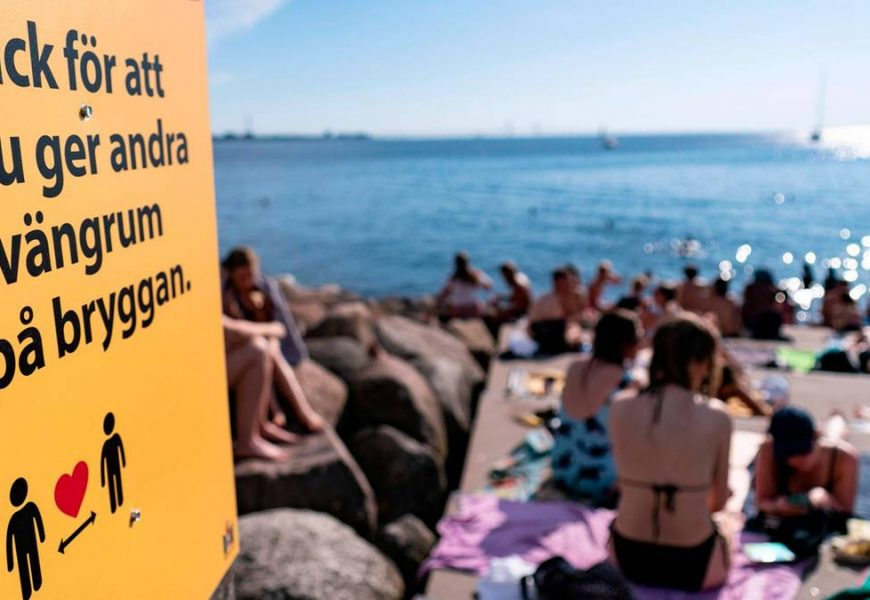 More than 9000: Sweden registered the highest number of new infections within a week
