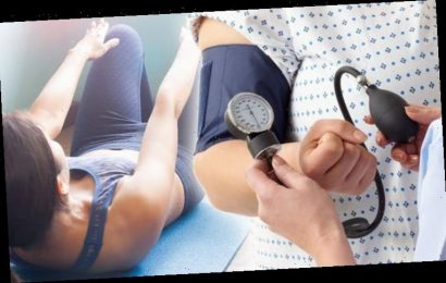 igh blood pressure warning – common exercise you should avoid or risk deadly hypertension