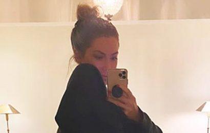Bare Belly! Pregnant Stassi Schroeder Reveals Baby Bump in Mirror Selfie