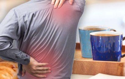 Back pain diet – the best breakfast drink to protect against lower backache symptoms