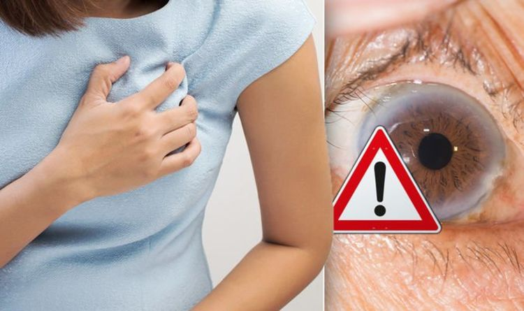 Heart attack warning – the subtle sign in your eyes that could be something serious