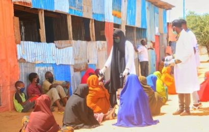 Lack of COVID-19 resources risking millions in Somalia settlement camps
