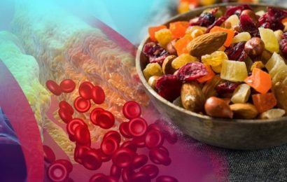 High cholesterol: The four foods to lower your levels and reduce your risk