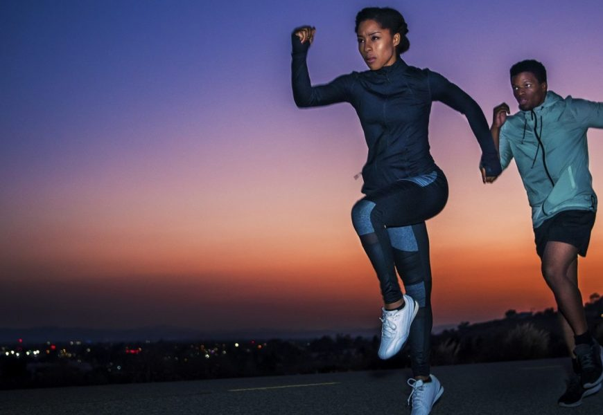 Reflective active wear to shop for your next low-light run