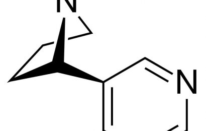 Compounds block stress-enhanced nicotine intake in rats