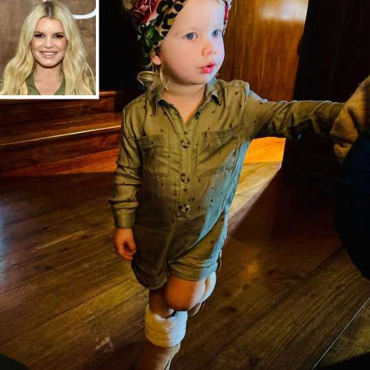 Jessica Simpson Says Daughter, 20 Months, Is Obsessed with Shoes: 'It Doesn't Even Matter Whose'