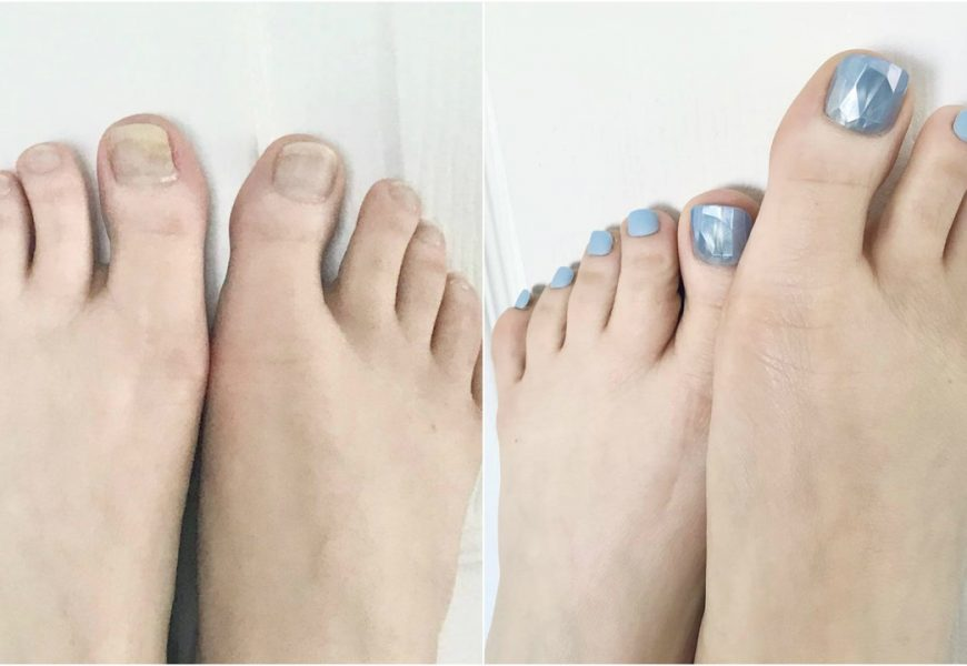 Press-On Toenails Are My Weird Secret for a Cute, Quick Pedicure