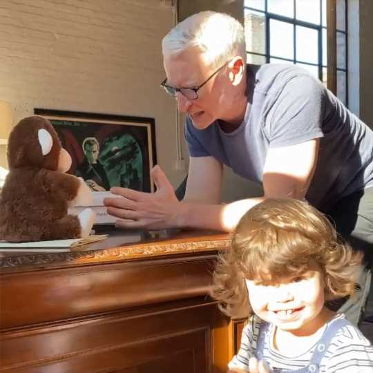Watch Anderson Cooper Sing and Clap Along with Andy Cohen's Son Ben in Adorable Playtime Video