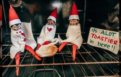 This Is Why Putting Your Elf On The Shelf In The Oven Is Always A Bad Idea