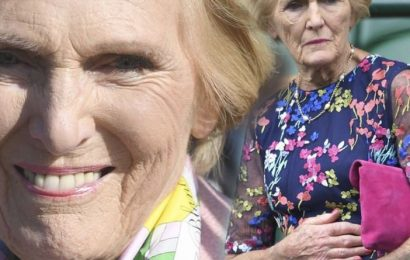Mary Berry health: TV star's polio condition which left her with a misshapen left hand