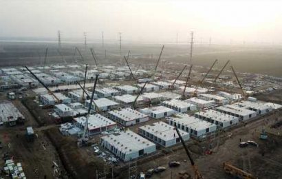 Chinese city rushes to build massive COVID-19 quarantine centre