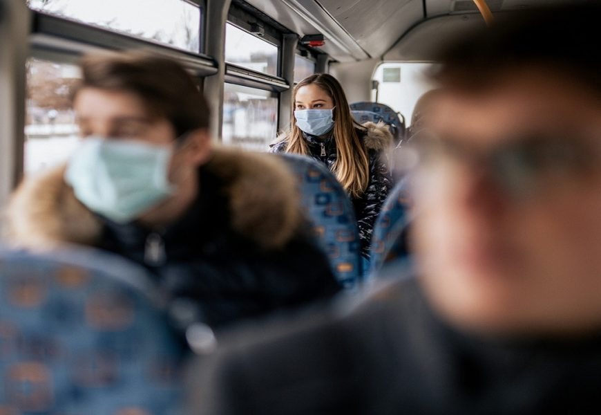 CDC to require face masks during transit: report