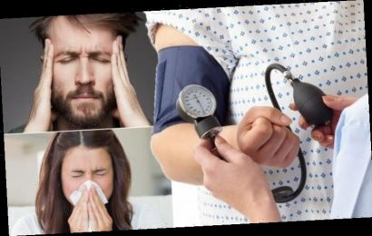 High blood pressure symptoms: The six 'emergency' signs of deadly hypertension