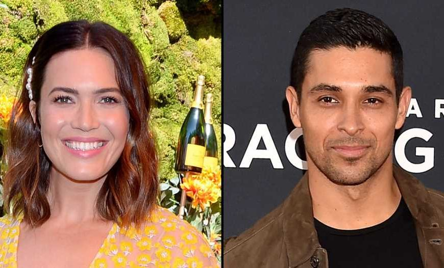 Pregnant Mandy Moore Congratulates Ex Wilmer Valderrama on Baby Girl's Birth