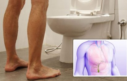 Gallbladder cancer symptoms: Dark urine could be a sign of the deadly disease