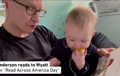 Anderson Cooper Reads to 10-Month-Old Son Wyatt in Adorable Video: 'Is There Anything Better?'