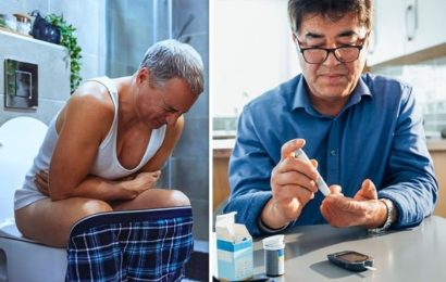 Diabetes type 2 symptoms: Difficult bowel movements may indicate nerve damage