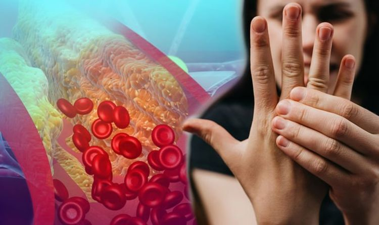 High cholesterol: Blockages caused by having high levels can cause a tingling sensation