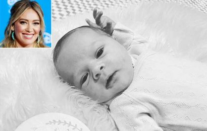 Hilary Duff Shares Adorable Photo of Daughter Mae to Mark Baby's First Week: 'We Love You So'