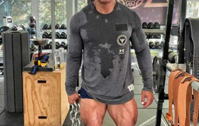 Dwayne Johnson Shows Off His Insanely Ripped Quads While Training for Black Adam Movie