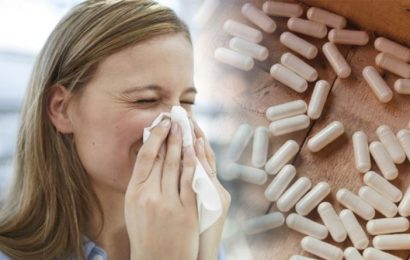 Best supplements for hay fever: Live bacteria proven to alleviate symptoms in sufferers