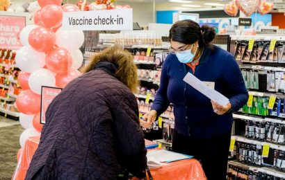 CVS, Walgreens waste more COVID vaccine than most states combined, data shows