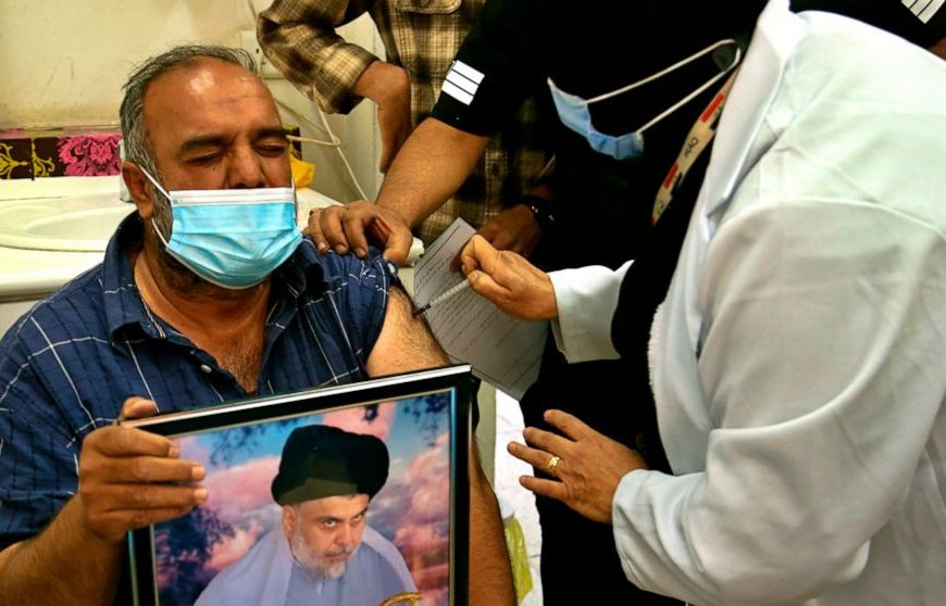 Iraq pushes vaccine rollout amid widespread apathy, distrust