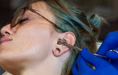 Here's Why You Should Think Twice About Piercing Your Own Ears