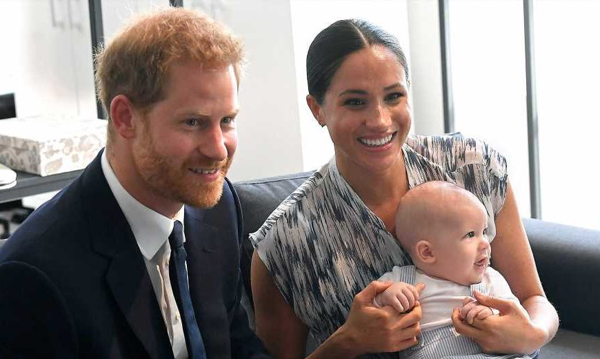 Meghan Markle Dedicates Her Book to Prince Harry and Son Archie