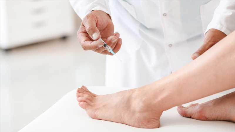Why Some People Are Getting Foot Injections