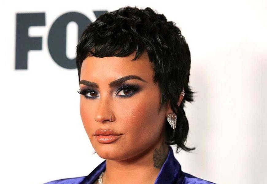 Body Confidence! Demi Lovato Shares Lingerie Selfie After 1st Sex Scene