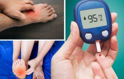 Diabetes type 2 symptoms: Four sensations in the feet that signal high blood sugar damage