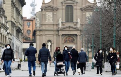 Italy reports 5 coronavirus deaths on Sunday, 5,321 new cases