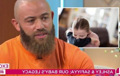'Symptoms were things you would see in a normal baby' Ashley Cain issues advice to parents
