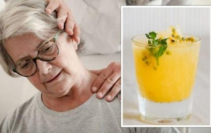 Arthritis: The drink to make at home to 'reverse inflammation' and offer fast pain relief