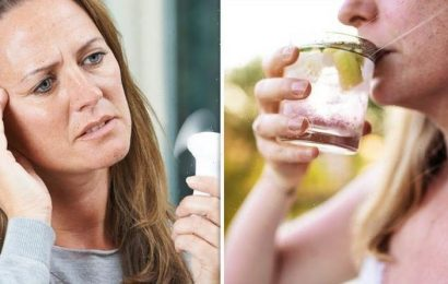 Menopause treatments: Two drinks to avoid or risk severe symptoms – doctor's warning